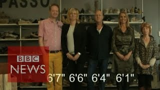 Why are the Dutch so tall? BBC News