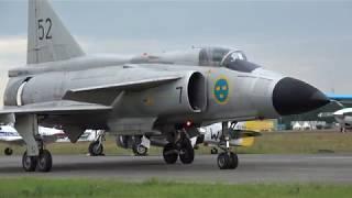 Swedish SAAB Viggen Solo Display @ Luchtmachtdagen Volkel 14-06-2019
