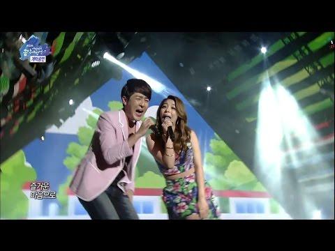 【TVPP】Ailee - Let's go travel (with Sweet Sorrow), 여행을 떠나요 @ Korea Music Festival in Sokcho Live
