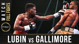 Lubin vs Gallimore FULL FIGHT: October 26, 2020 - PBC on Showtime