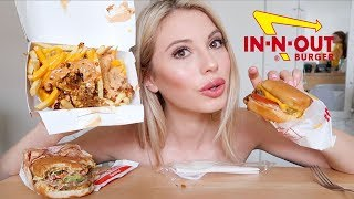 IN-N-OUT Mukbang! (eating show)