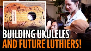 Watch the Trade Secrets Video, Mamie Minch's Uke-building Camp for young girls!