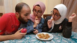 بتعمل رجيم وفي البيت بياكلو قطايف ومروقين ... ومفاجأة أنظمة العيد ...