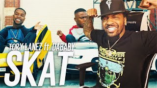 THIS VIDEO IS CRAZY! | Tory Lanez - SKAT (feat. DaBaby) (REACTION!!!)