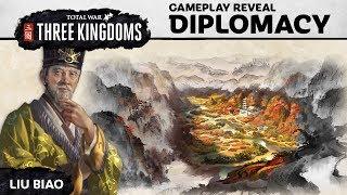 Total War: THREE KINGDOMS - Diplomacy Játékmenet