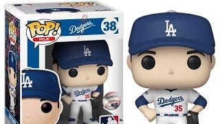 Los Angeles Dodgers Funko Pop! MLB Cody Bellinger Vinyl Figure