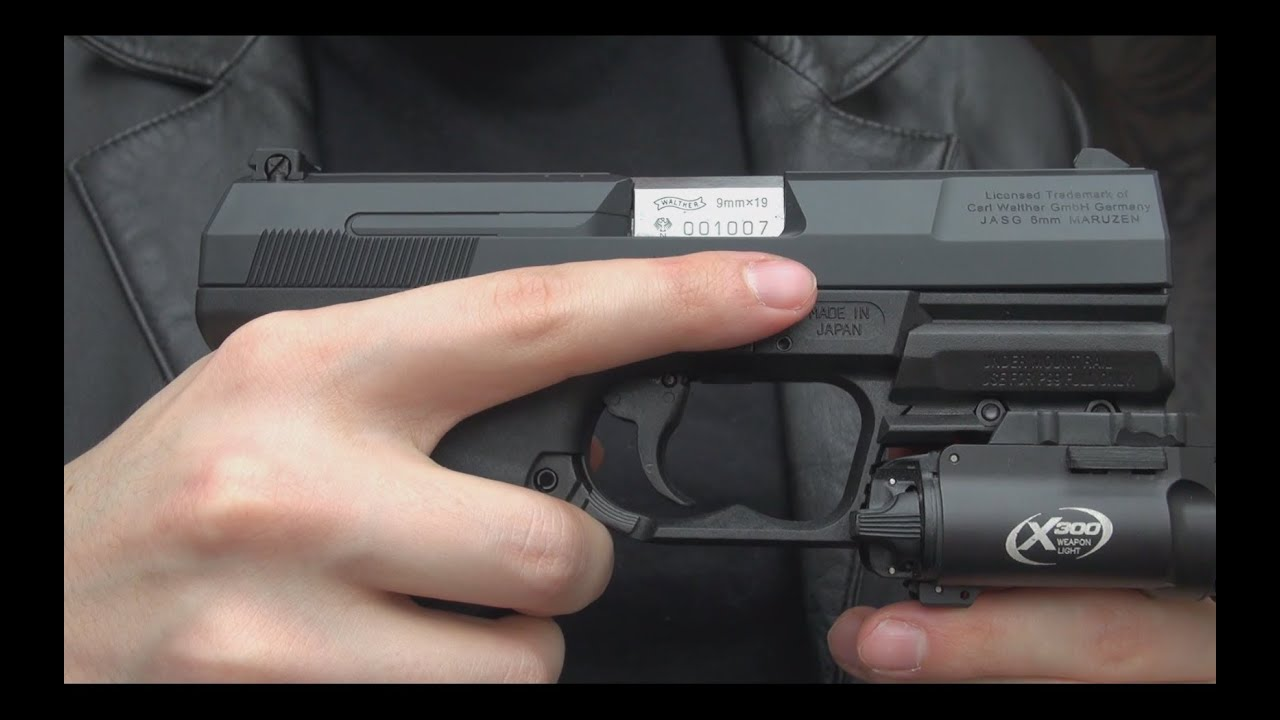 Airsoft  Walther...P99 Airsoft Pistol With Silencer