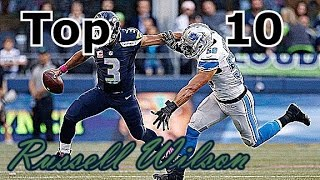 Russell Wilson Top 10 Plays of Career