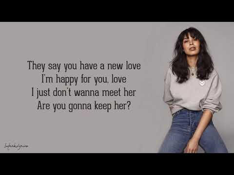Maria Mena - I Don't Wanna See You With Her (Lyrics)