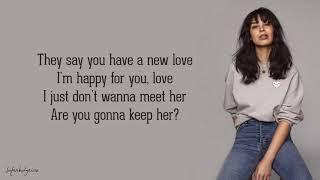 Maria Mena - I Don't Wanna See You With Her (Lyrics)
