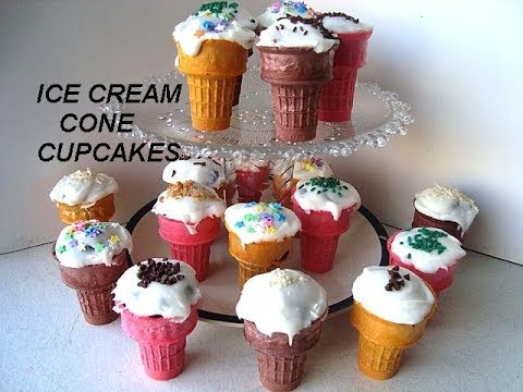ICE CREAM CUP CAKES, Party Cupcakes, Muffin Cups, - Smashpipe Style