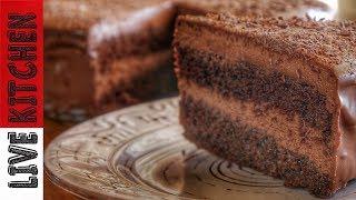 Τρελαίνομαι για Τούρτα Σοκολατίνα!! Εσείς???(Toyrta Sokolatina)-Chocolate Mousse Cake recipe