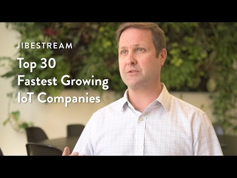 Innovating our way to being recognized as one of the 30 Fastest Growing IoT Companies of 2016. Find out why Jibestream was chosen.