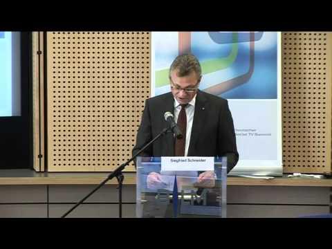 """Rede:  Grußwort Siegfried Schneider zum """"Deutschen Social TV Summit"""""""