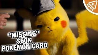"$60,000 Pokémon Card Goes ""Missing"" in the Mail… (Nerdist News w/ Jessica Chobot)"