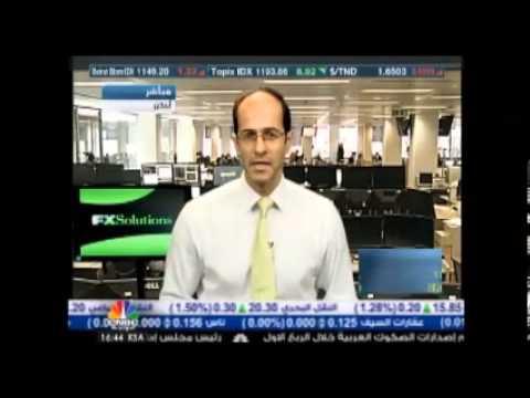 أشرف العايدي على سي ان بي سي العربية --  06 أغسطس 2013 Chart
