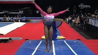 Simone Biles leads 2015 Nationals after Day 1 - Universal Sports
