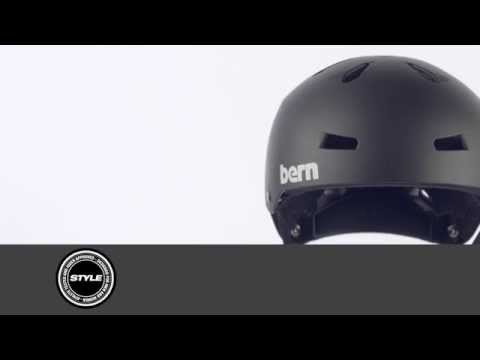 Video BERN HELMET MACON 2.0 Matte Navy