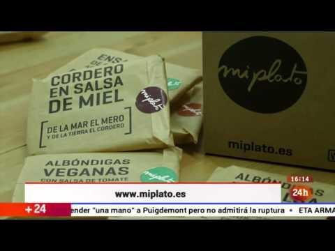 miplato.es Comida Casera a Domicilio en el programa Emprende de TVE