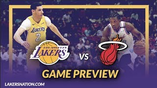 Lakers Nation: Los Angeles Lakers vs Miami Heat Game Day Preview - Game 16