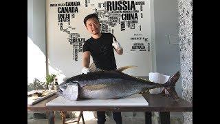 Xẻ thịt CÁ NGỪ Đại Dương 30kg -MAGURO P1