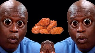 Shaq Eating Hot Wings Meme Compilation