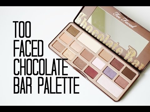 Review and Swatches: Too Faced The Chocolate Bar Eye Palette