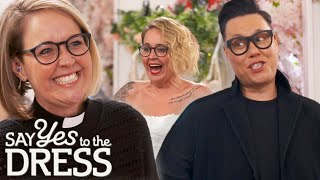 Unconventional Priest Wants A Light Dress With Pockets | Say Yes To The Dress Lancashire