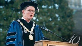 Duke President Vincent Price Delivers Inaugural Address video
