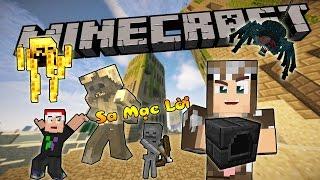 CHẠY KHỎI THÀNH PHỐ CHẾT CHÓC (Minecraft Sa Mạc Lời #10-2)