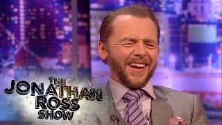 Simon Pegg on Watching Tom Cruise Perform Dangerous Stunts | Jonathan Ross