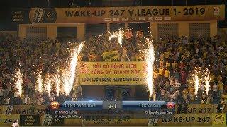 Thắng kịch tính trước Sài Gòn FC, Thanh Hóa duy trì mạch bất bại tại V.League 2019 [Highlights]