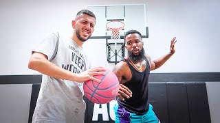 CASH vs BRAWADIS Basketball 1v1! **Heated Game**