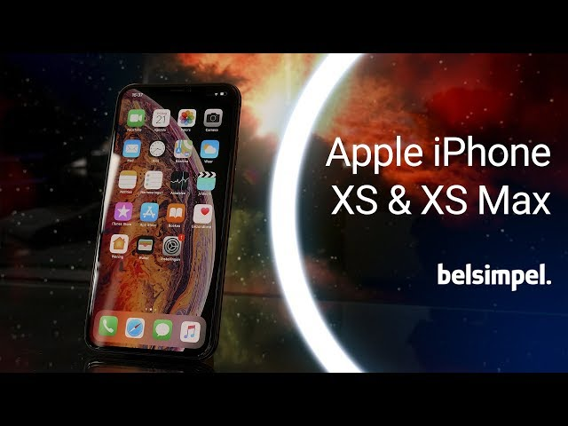 Belsimpel-productvideo voor de Apple iPhone XS 64GB Black