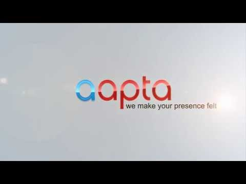 Aapta Logo Reveal Sample - Adobe After Effects Project HD
