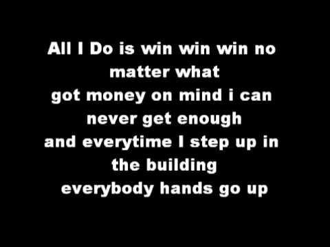 DJ Khaled - All I Do Is Win(Lyrics) - YouTube