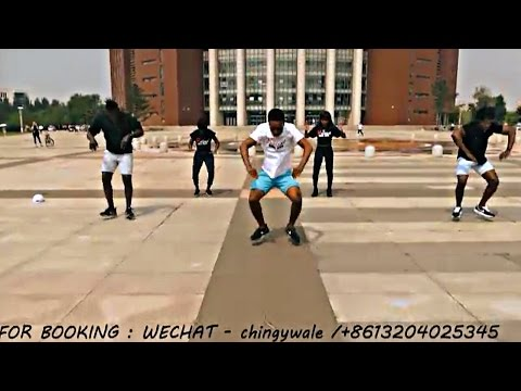 AFRICAN NEW DANCE MOVES (AFRO BEAT) BY  RELOAD CREW @Shenyang #China