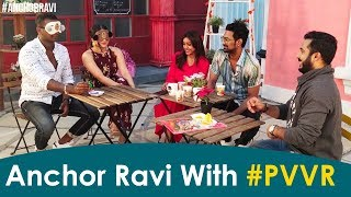 Anchor Ravi With #PVVR - Punarnavi, Varun Sandesh, Vithika..