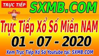 XSMN TRỰC TIẾP XỔ SỐ MIỀN NAM HÔM NAY THỨ 4 NGÀY 01/07/2020, KQXS MIEN NAM
