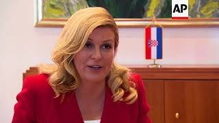 Croatia president: Whatever happens, we're winners