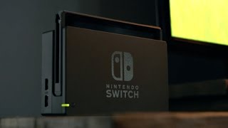 First Look at Nintendo's New Console: Nintendo Switch