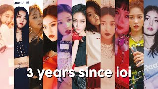 3 years since ioi: a tribute