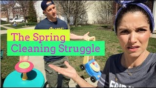 THE SPRING CLEANING STRUGGLE! | Kristin and Danny
