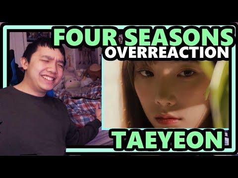 TAEYEON [태연] - Four Seasons [사계] MV *OVERReaction* [NOTHING BUT BEAUTY IN THIS MV]