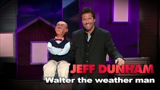 """Walter the weather man"" 