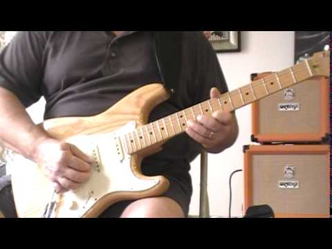 Delta 12 Bar Blues Guitar Solo