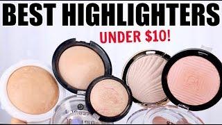 BEST DRUGSTORE HIGHLIGHTERS UNDER $10    Best Drugstore Makeup Series