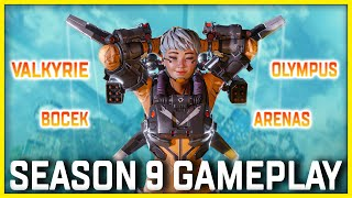 Apex Legends Season 9 Gameplay First Look! Arenas, Valkyrie, Bow & More!