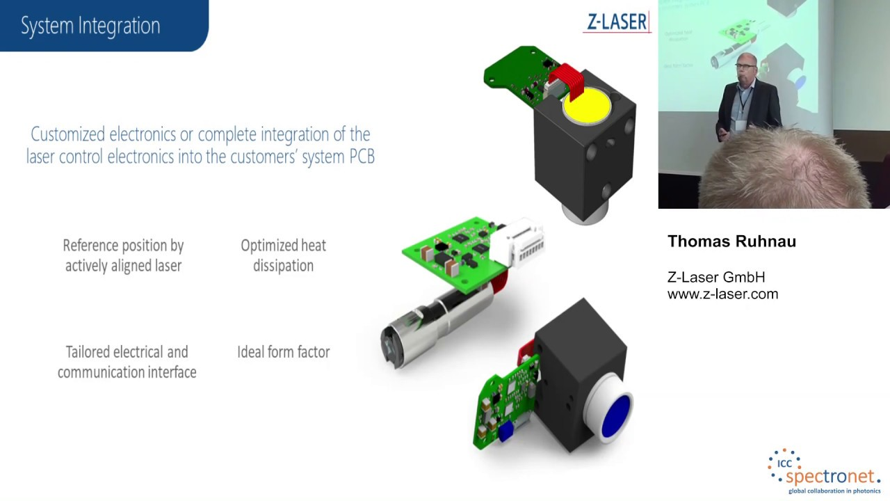 Laser für Embedded Vision - Technologieforum Bildverarbeitung 2019