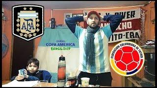 Argentina vs Colombia   Reacciones de un Hincha Argentino   Copa America